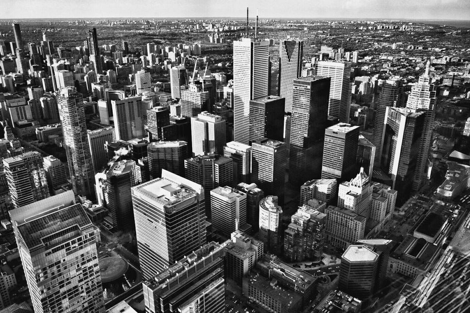 CN Tower Cntower CN Tower - Toronto CN TOWER Toronto Canada City High Angle View Cityscape Building Exterior Architecture Outdoors No People Day Travel Destinations Black&white Blackandwhite Blackandwhite Photography Black&white Photography Black And White Black & White Cityview Torontophotography Torontophotos Skyscreaper