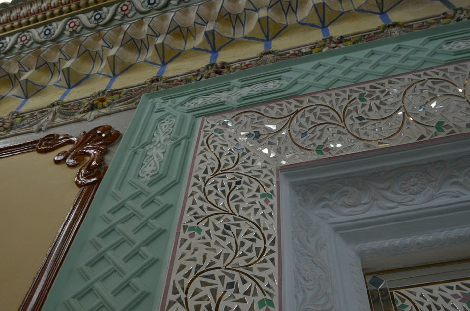 Architecture Built Structure Detail Details Fujairah Indoors  Low Angle View No People Pattern Travel Destinations UAE United Arab Emirates
