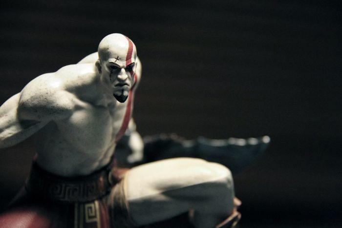 Portrait Video Games Kratos God Of War