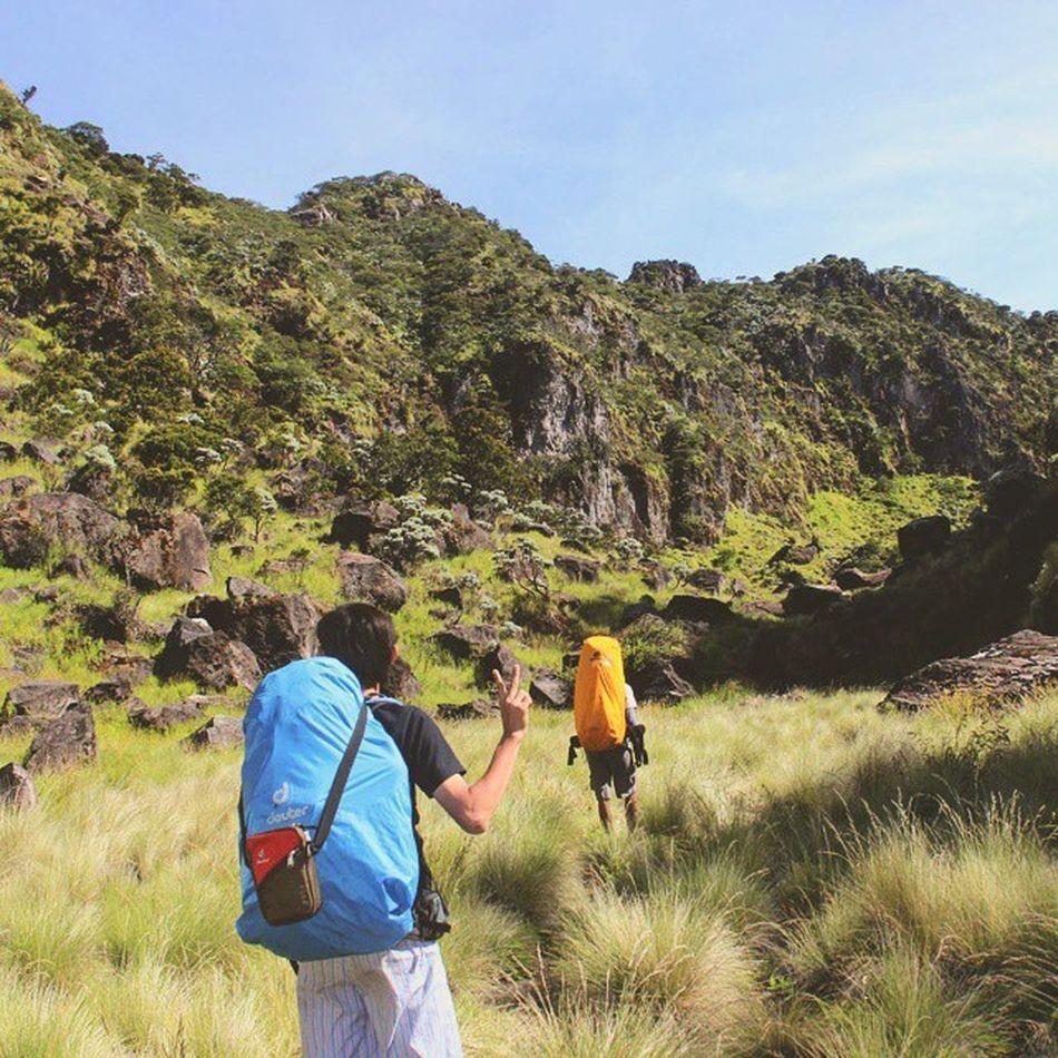 Tebing tebing di puncak gunung sumbing Indonesiaituindah Exploreindonesia Mtsumbing