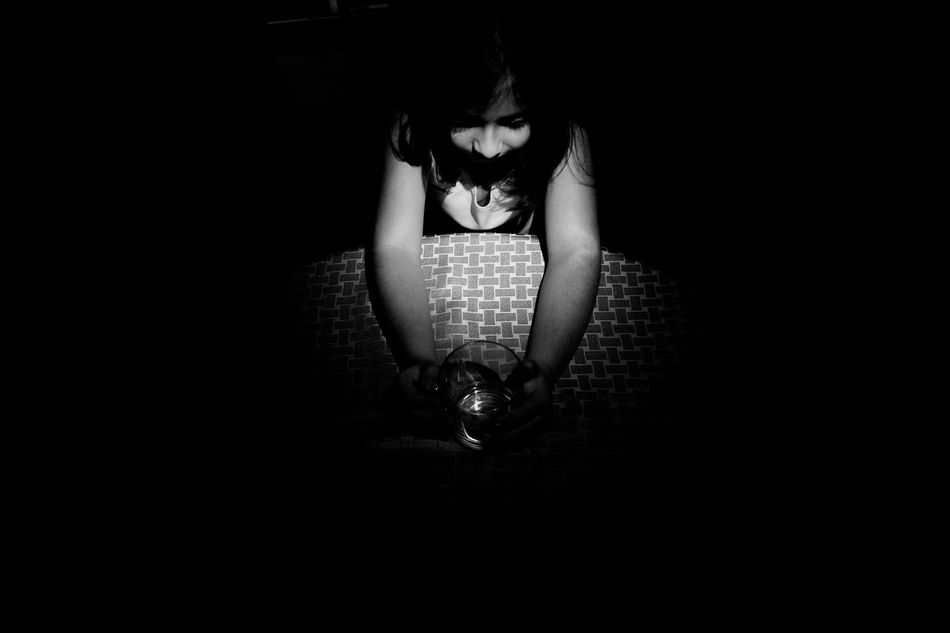 One Person State Of Mind  From My Point Of View Blackandwhite Blackandwhite Photography Black And White From Where I Stand Emotions Emotional Photography Niece . Posing