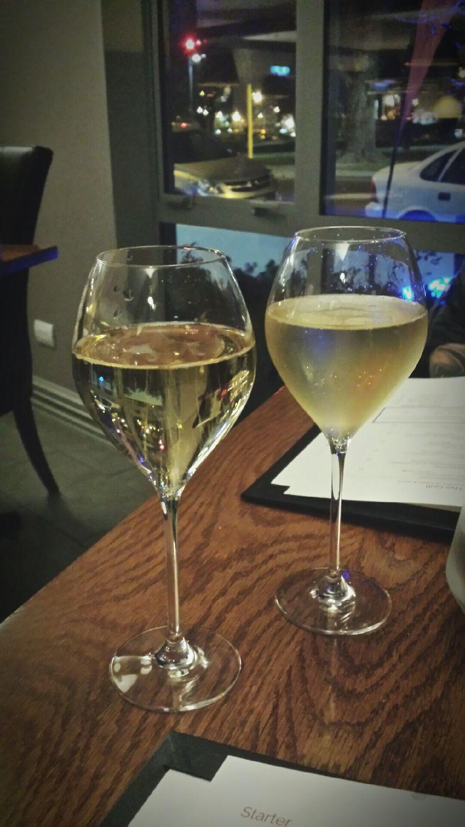 Anniversary celebration. Alcohol Wine Dinner Date Anniversary Restaurant Wine Glasses Wine Moments