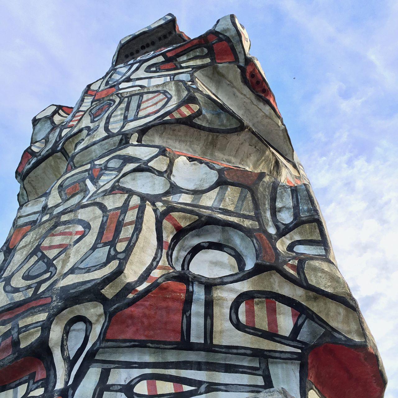 Architecture Art Dubuffet Park Paris