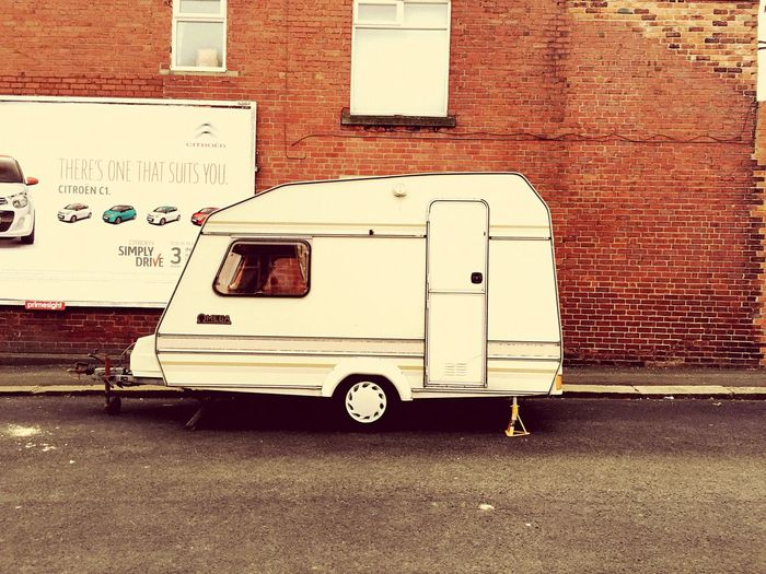 Caravan Caravanning Retro Style 70's Memories Holidays Childhood Summers Coming Campinglife Urban Camping Filtered Image Tweaked Color Daily Life Dog Walking Days