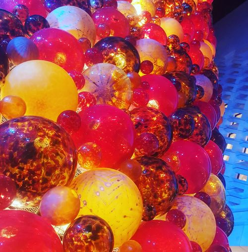 Glass Christmas Tree Capital City Of Culture 18 Glass Malta Detail Valletta Valletta18 V18 Variation Abundance Multi Colored No People Backgrounds Indoors  Full Frame
