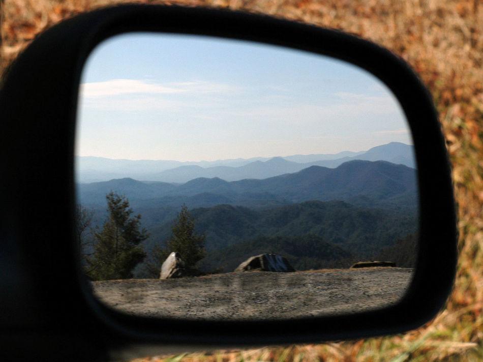 Cohutta Cohutta Wilderness Mirror Mountains In Mirro Mountains Mirro Mtns Mtns In Mirror Rearview Rearview Mirror Reflection