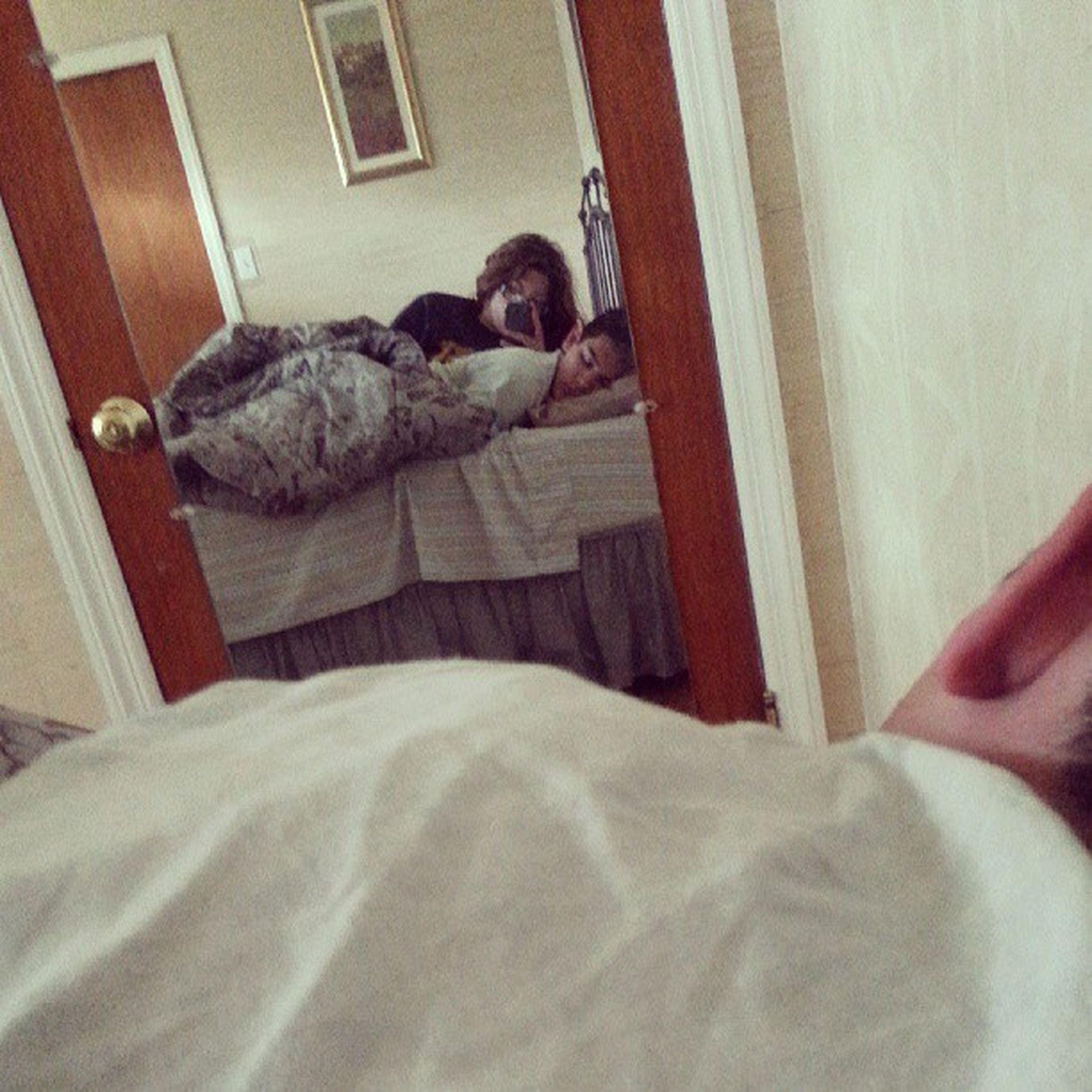 Sleepin like a wittle angel Babysleeps