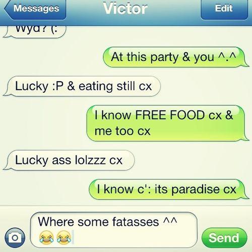 Texting C'x
