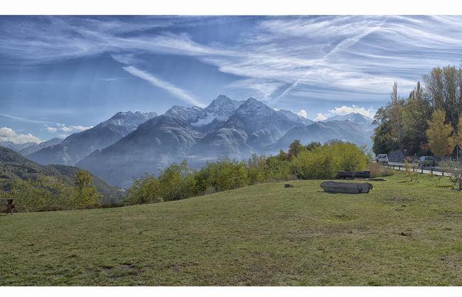 Aosta Valley Beauty In Nature Cloud - Sky Idyllic Italia Italy Landscape Mountain Mountain Range No People Scenics Valle D´aosta Vallee D'Aoste The Great Outdoors - 2016 EyeEm Awards