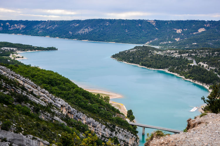 Beautiful Blue Water Cliff Jumping Clouds France France Sud Gorge Du Verdon Man Made Water Mountains Outdoors Paddle Boats Sky South Of France Travel Travel Destinations Travel Photography Verdon EyeEmNewHere