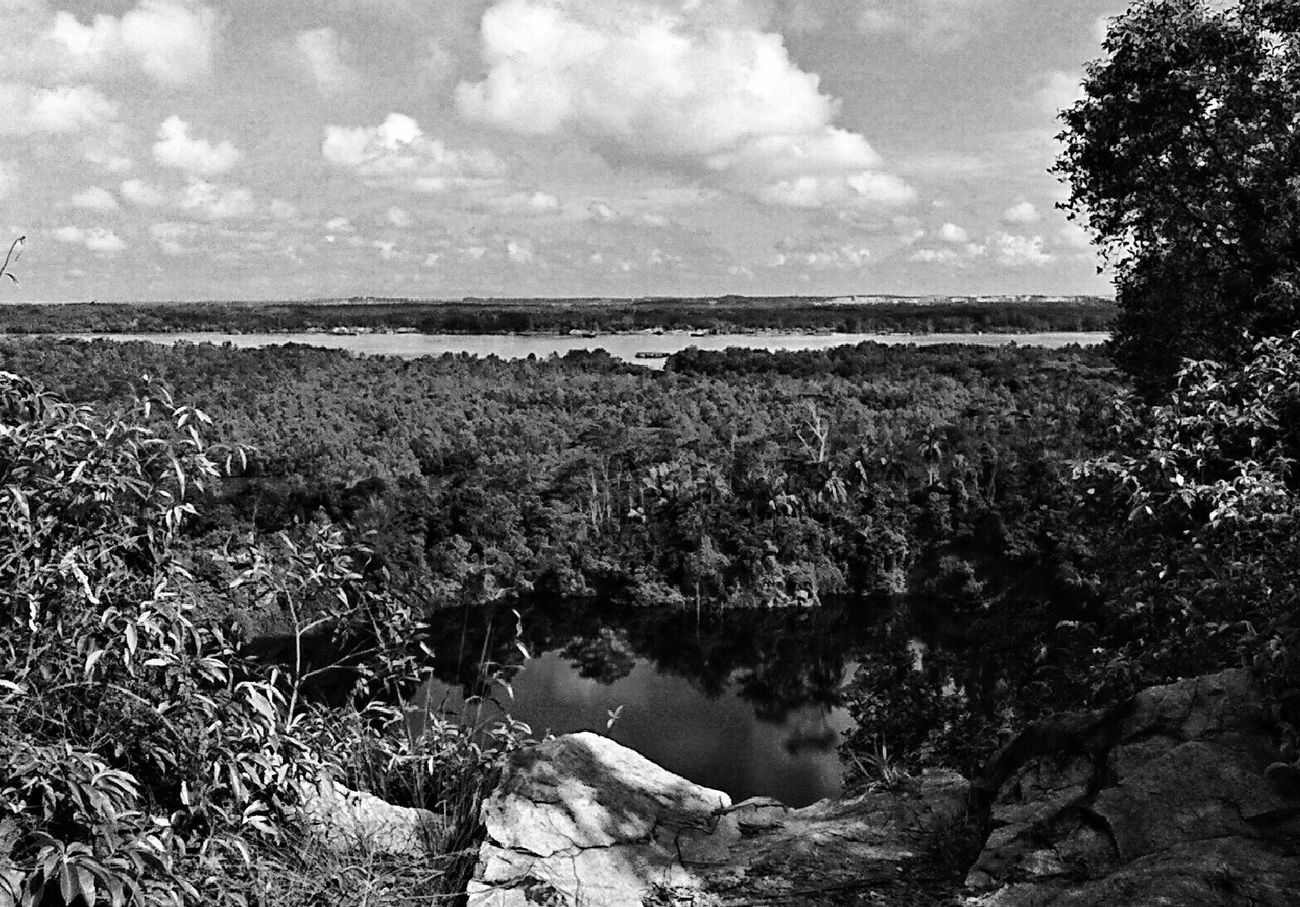 far as the eye can see... Pulauubin , Granite , Quarry , Malaysia