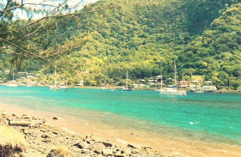 pago bay in the AM