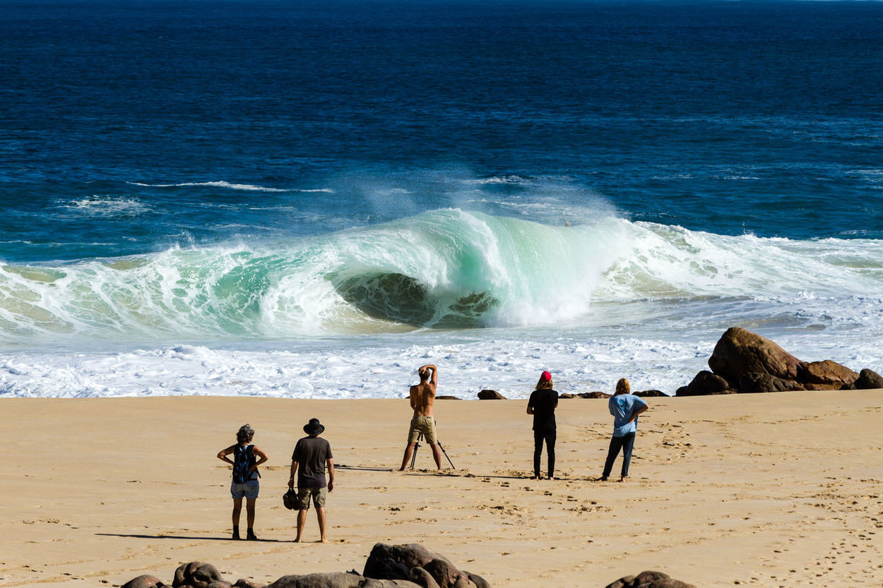Stop and look! Wedge Surf Surfing Waves Beach Water Ocean Sea Surf Photography First Eyeem Photo Live For The Story