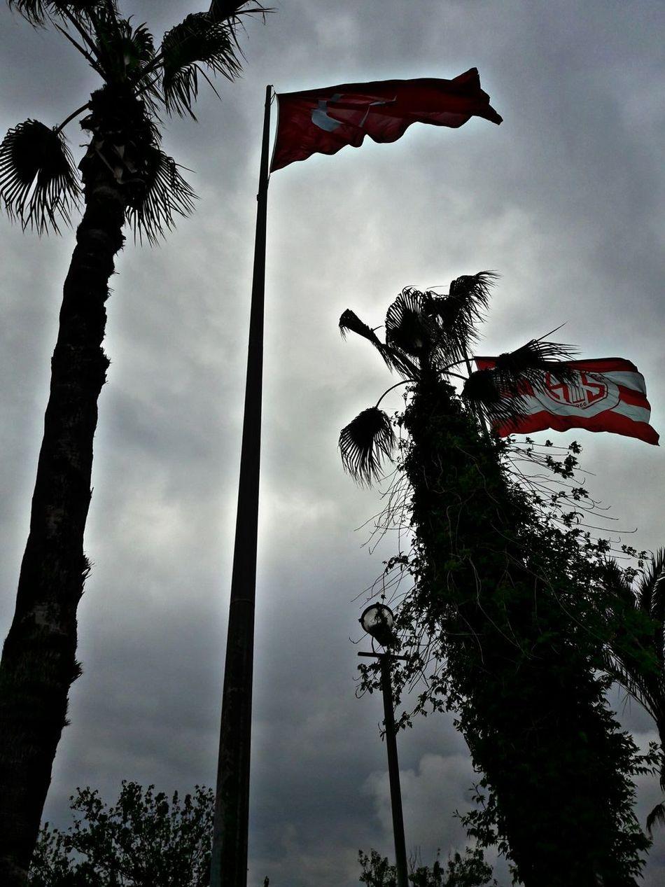 Flags Sky Turkey Türkiye Antalya As 🇹🇷