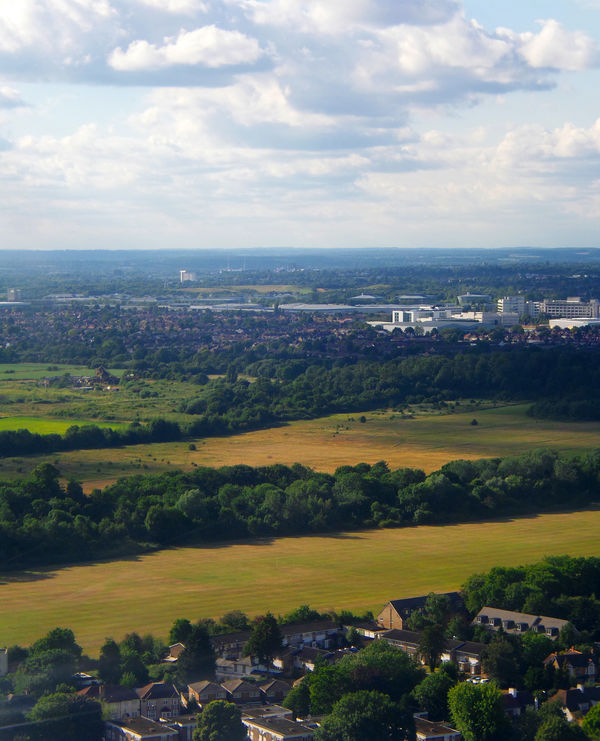 London summer 2016 Adapted To The City Aerial View Aeroplane View Agriculture Alhaalla Apartments Buildings Built Structure City Clouds Day Down Below Fields Houses Ilmakuva Kaupunki Landscape Pellot Pilvet Rakennukset Residential Building Roads Streets Sunny Up In The Air