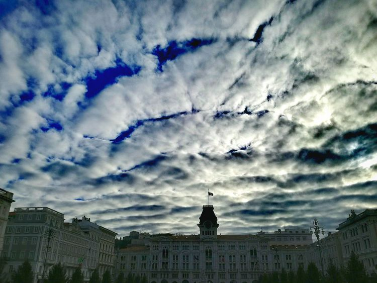 Cloud - Sky Sky Travel Destinations Piazza Trieste Piazza Unita The City Light
