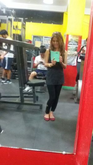work-out GymShit Excercising People Watching Everyday Joy Beauty Selfie ✌