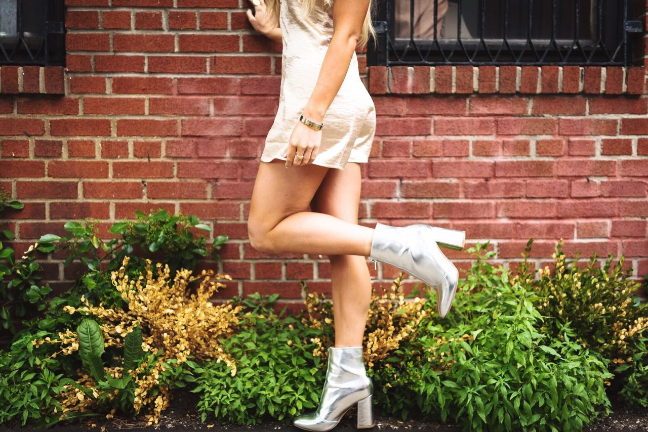 Brick Wall One Person Human Leg Young Adult One Woman Only Low Section Young Women Casual Clothing Leisure Activity Lifestyles Outdoors One Young Woman Only Adult Day Only Women Standing People Human Body Part Adults Only Women Beauty The Portraitist - 2017 EyeEm Awards Photographer Fashion Fashion Model