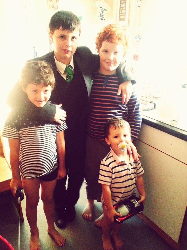 My Boys Calum Jason Jack Henry Marmaduke Prouddad My Everything Lovemyboys my four sons