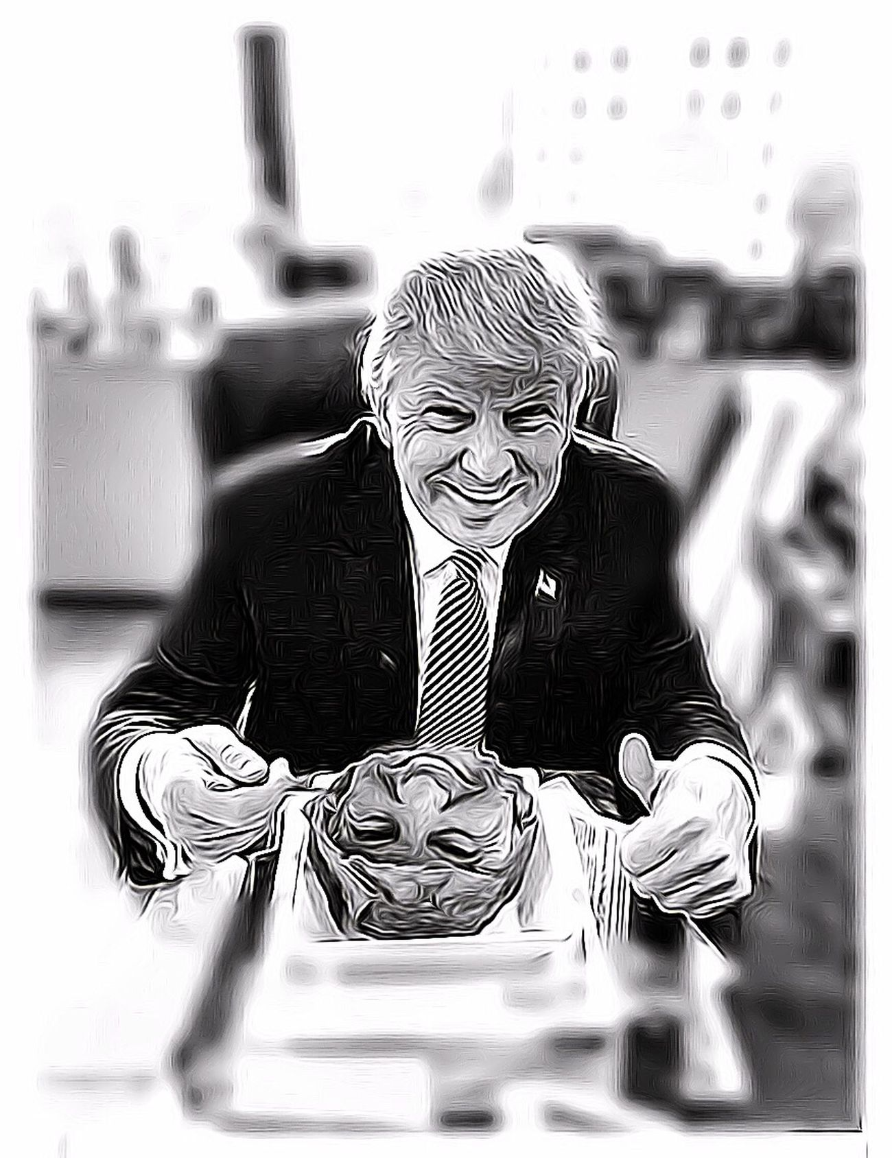 Amo El Taco Trump Consumed By Consumption Forgotten Dreams New Nightmares Human Condition Splinters Of Reality Facial Experiments Photographic Approximation Hiden Faces Is Anything Out There Real? A Daily Accident