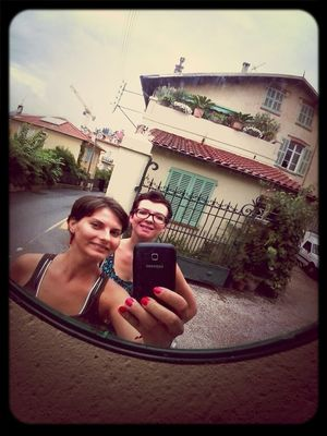 Taking Photos at Grasse by Luluxx