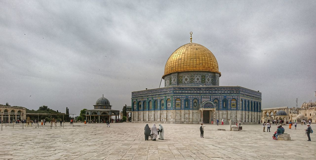 Religion Tourism Place Of Worship Temple Mount At The Mosque