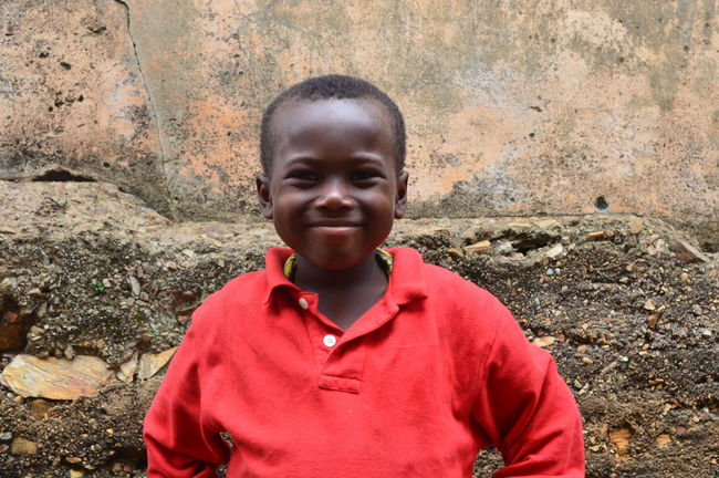 Africa African Boys Cheerful Child Childhood Looking At Camera One Person Portrait Smiling Standing Togo