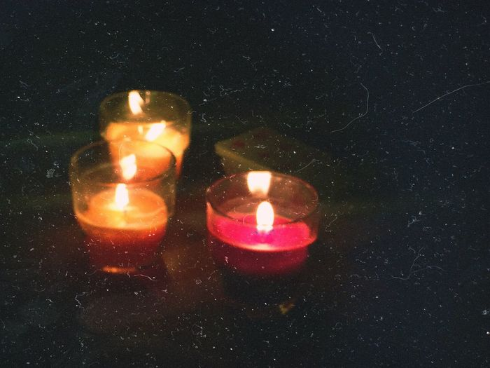 """Quiteness"" Candles Capodanno Night"