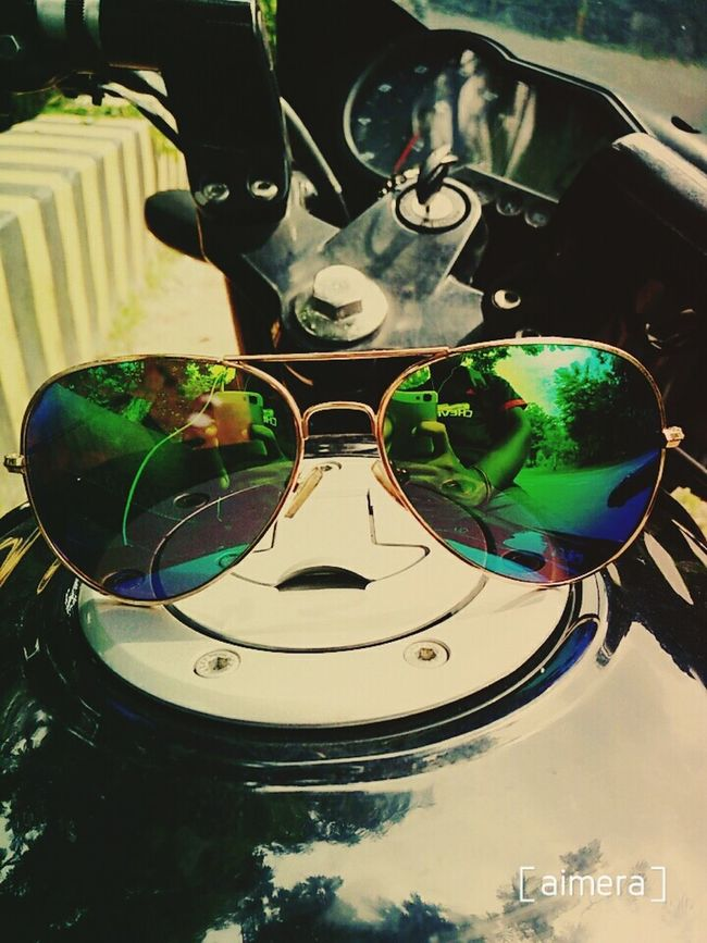 Sunglasses ✌👌 Reflection Green Color First Eyeem Photo