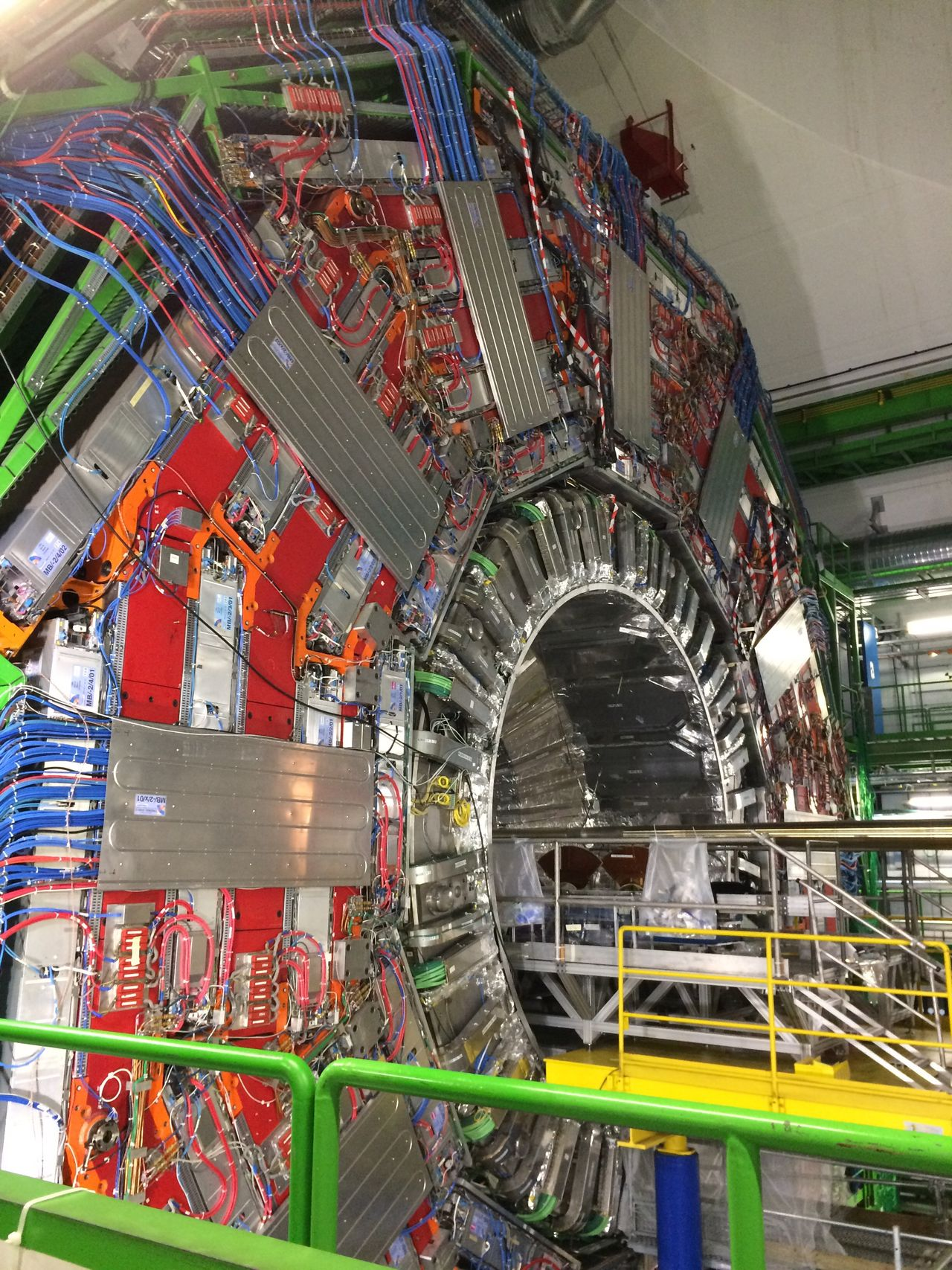 Built Structure Architecture Indoors  No People Day Cern Colider-MT Atomium Phisics LHC Large Hadron Collider Collider