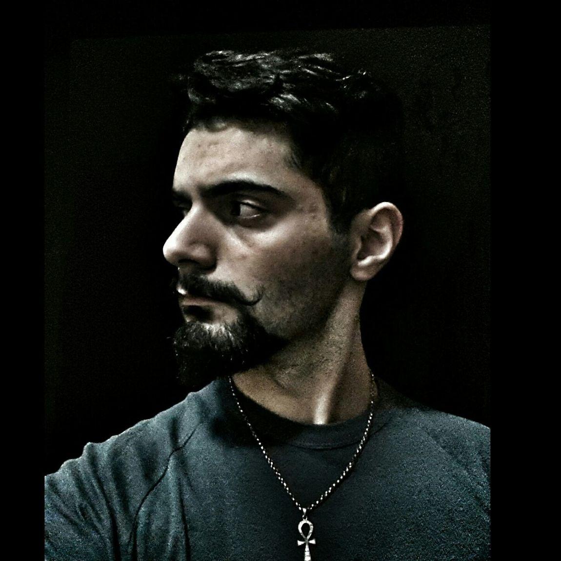 Dark Beard Face Photography Horror Angry Mr.Semiz Photography Horror Edition Bad ıstanbul