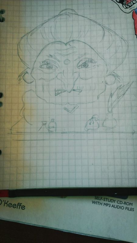 Studying Drawing My Drowing