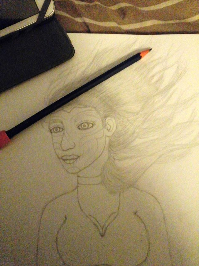 My Artwork Art, Drawing, Creativity Unfinished_art EbPop