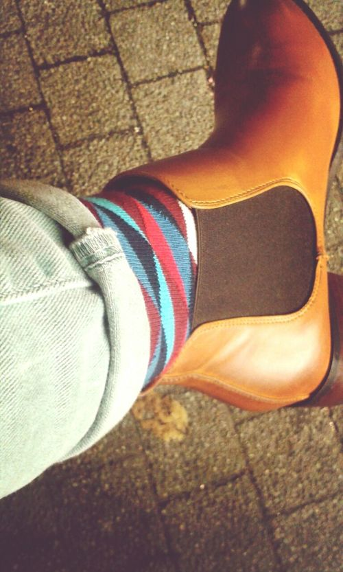 :)) Today's Hot Look Fashion Socks Colours Of Autumn