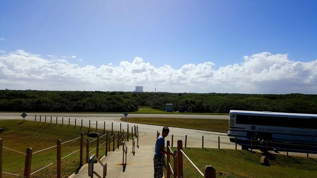 Cape Canaveral Kennedy Space Center  Sky Florida Nocompetition