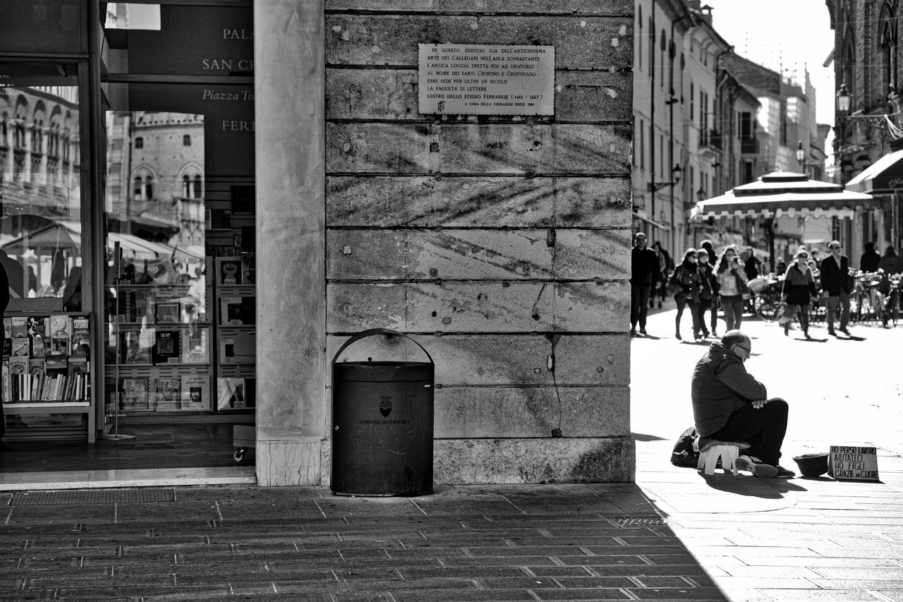 City Day Outdoors Poor  Real People Solitude Street Street Photography Streetphoto_bw Streetphotography