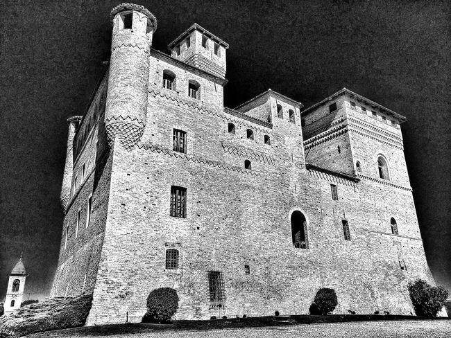 Blackandwhite Artificial Nocturne Historical Building
