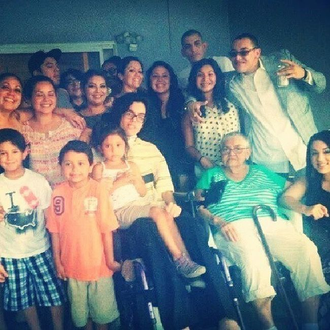 Because you're the Nucleus of our Family! All Love centers around you! It's a Celebration of you and what you mean to ALL of those around you! I know I can speak for many when I say I LOVE YOU! We All Love you, Wish you the Happiness this Day and Forever!! Happy Burrfday Grandma Loccs!! 4rm your 12 Grandchildren and 5 Great Grand Children's HappyBirthday Grandma Nucleus MolinaTillTheWheelsFallOff family ThatsHowWeRoll ForealTho swag Yolo unity Party ItsAMexicanThing LifesToShort liveitup CaliLife MobDeep AintNobodyFuckenWithMyClique love blessed BelieveThat loyalty l4l instagram instadaily igers summer sky StartedFromTheBottom