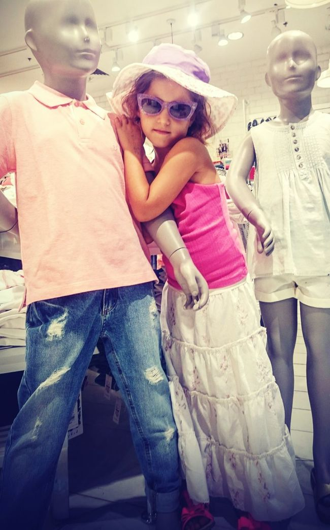 Fashion Children Photography Girl Model Summer Collection Clothes Summer Fashion
