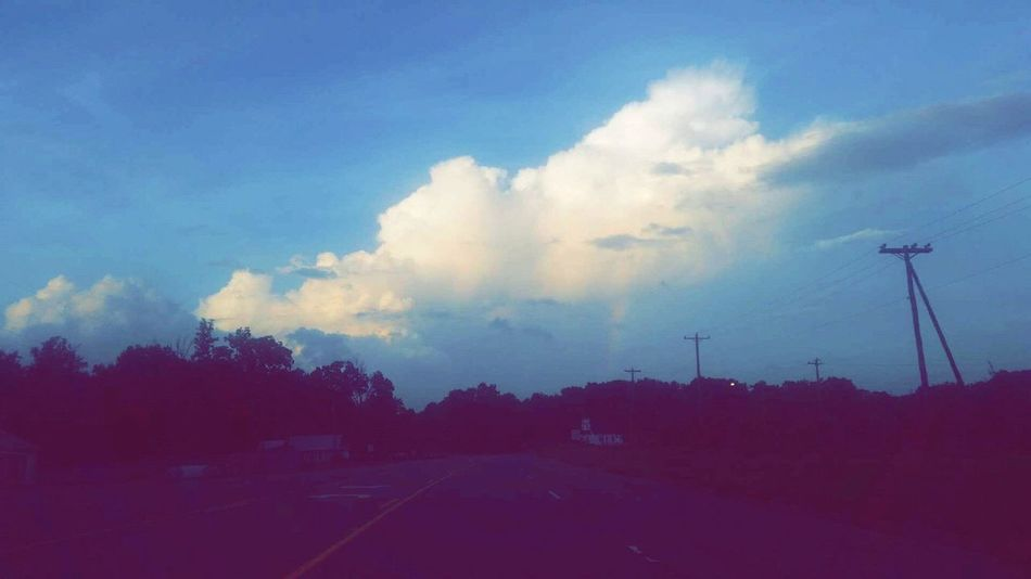 Rainbow Rainbow Sky Rain Rainy Days Clouds Sky Big Clouds Clouds And Sky Blue Sky