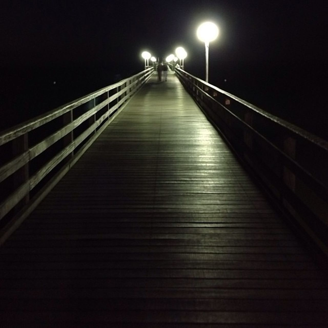 Hier jetzt wandeln wäre wundervoll. Seebrücke Binz Ostsee Balticsea Laterdings