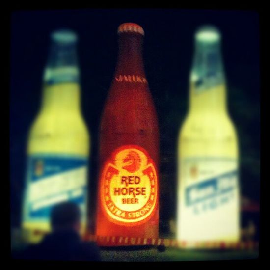 Liquid Redhorse Extrastrong Octoberfest @ mepz1. These makes me feel sooo thirstylikemiaminhell