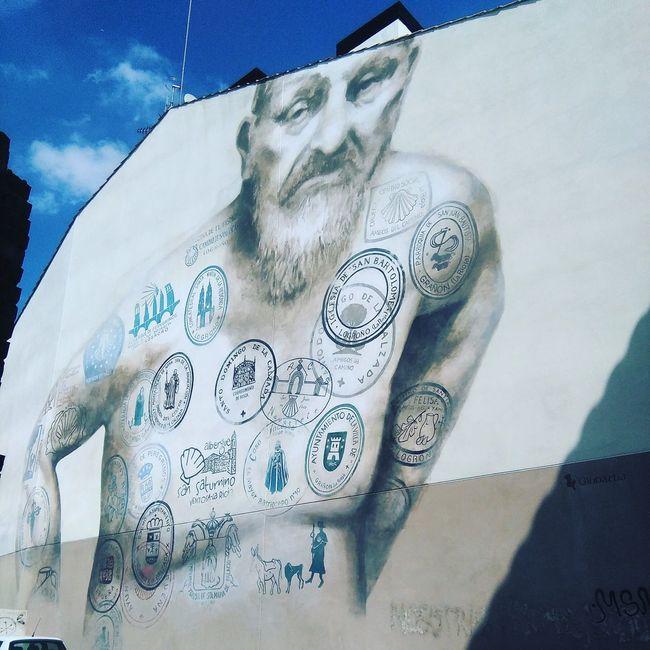 Graffiti Logroño Camino De Santiago