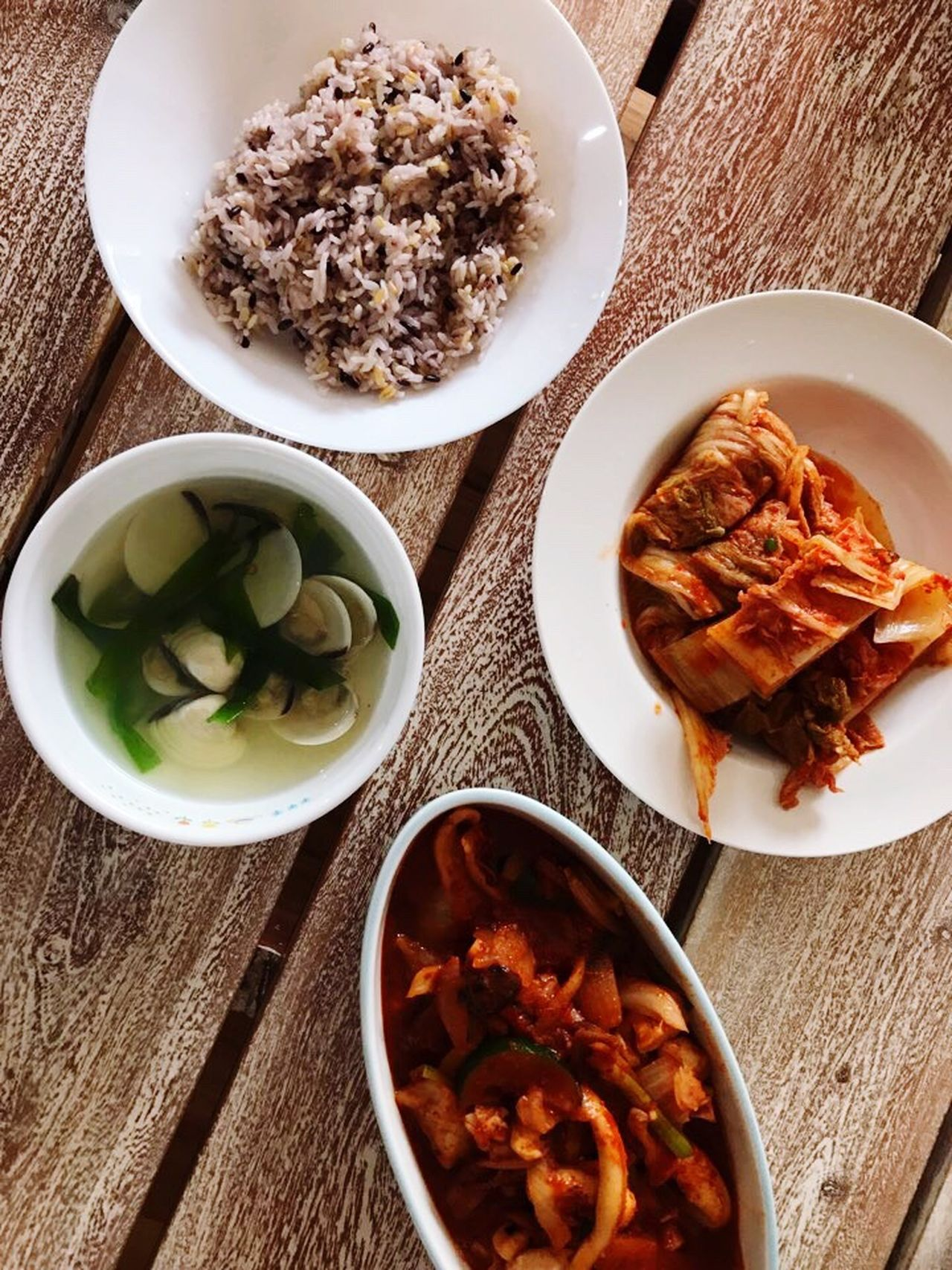 Korean Food Food Hansik Korean Dish Lunch Korean Lunch Newcastle NSW, Australia A Fine Autumn Day
