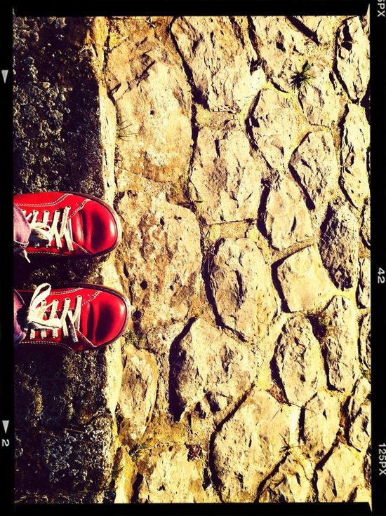 Red Shoes Red Stopping Time Two Of A Kind