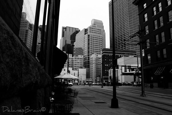 Walking around at Downtown Minneapolis by Delane
