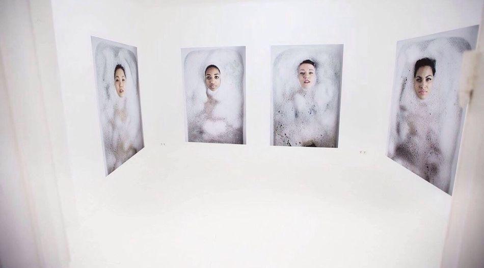 Exhibition Marie Chatard Nymphae Infernae Paludis Nymph Woman Bathtub