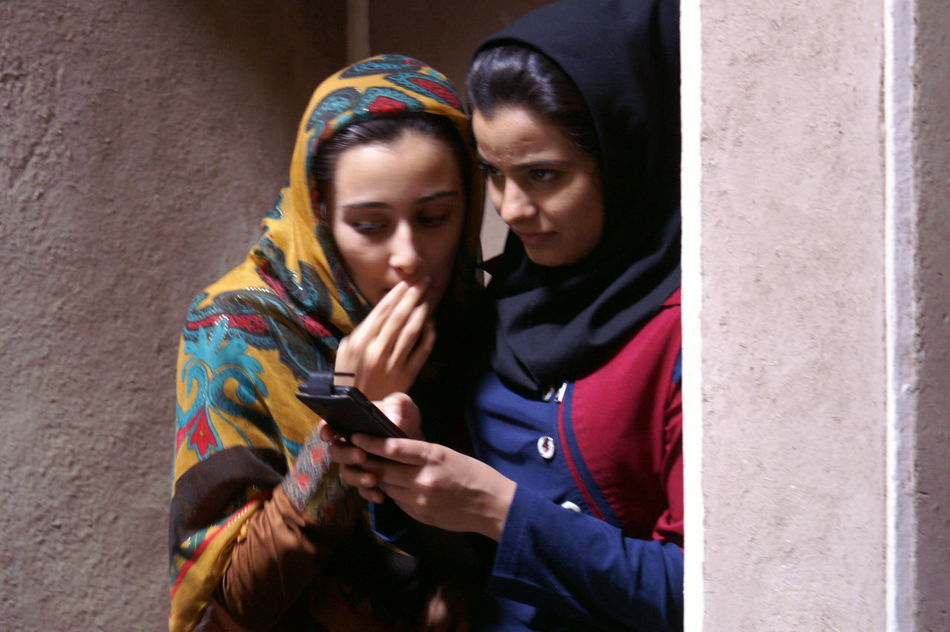 the irrepressible desire Couple - Relationship Emancipation Iran Mobile Conversations Multi Colored Two People Women Young Adult Youth Culture