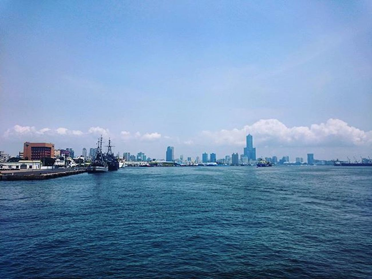 Thành phố xa dần Qijinisland Kaohsiung Seaport Taiwan Tower