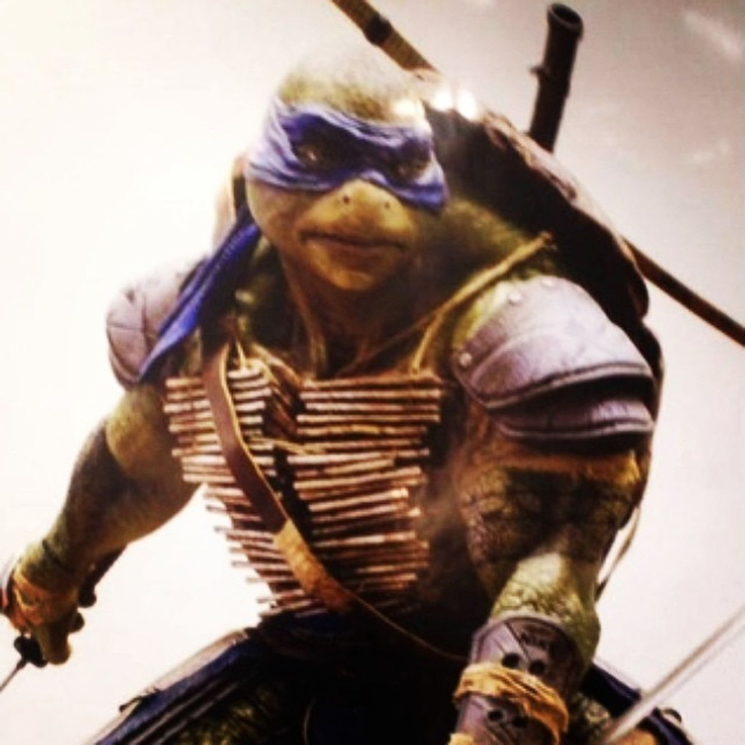 See don't discriminate even Leo a ninja turtles has tattoos stop being haters!!!? Tmnt TurtlePower MasterSplinter Shredder